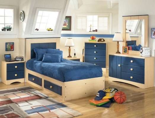 furnishing a child bedroom