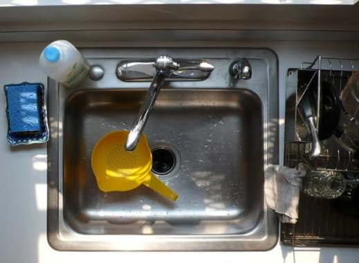 odors in dishwasher pipes