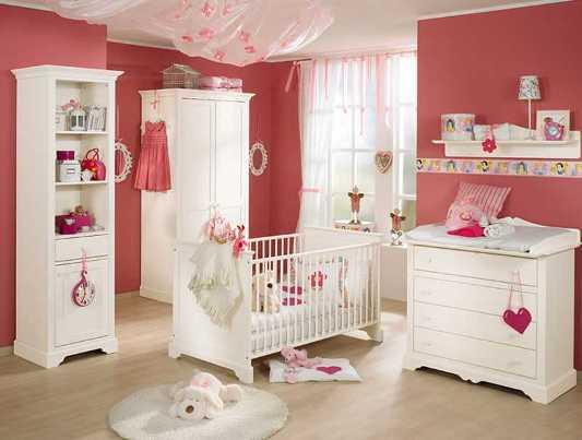 preparing baby's room