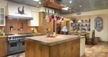 decoration of rustic kitchens