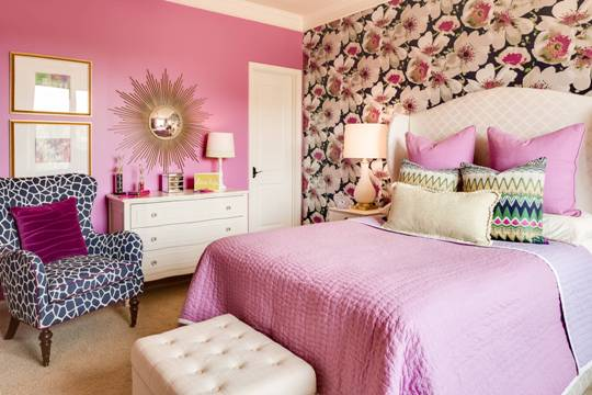 use pink color