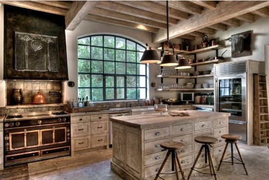 rustic kitchens decoration