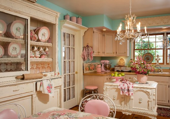 vintage kitchens decoration