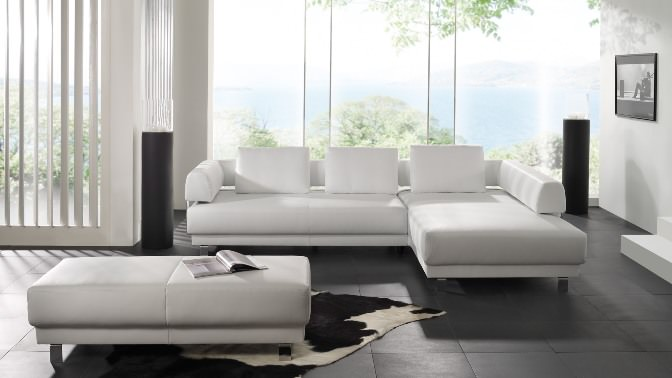 light color sofa