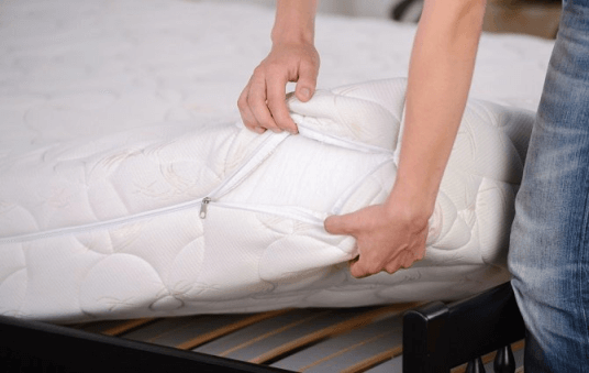 removing mites from mattress