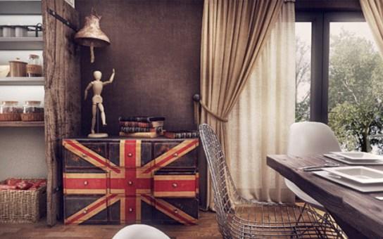 british style decoration