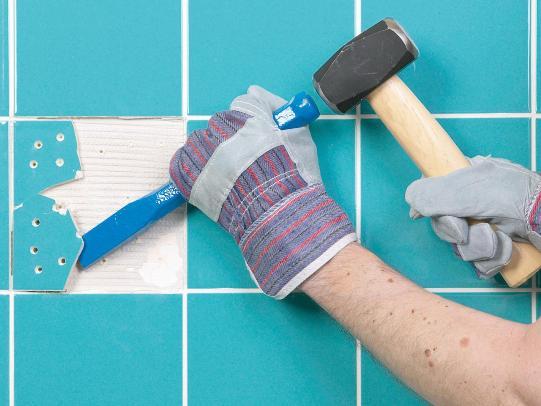 replace broken tile