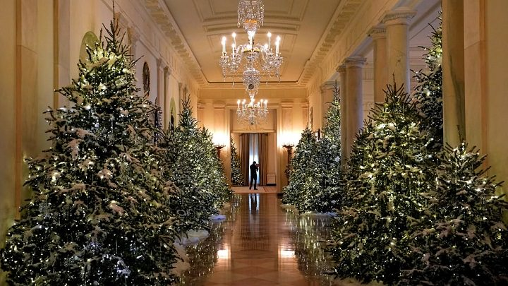 christmas decoration of the white house