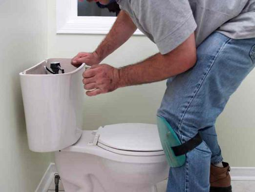 repair low flow toilet