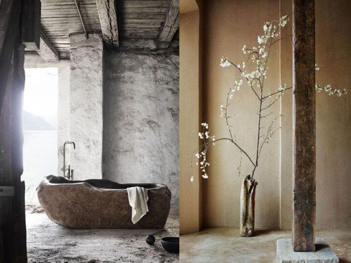 Wabi sabi interior design nature as inspiration golden home design - Wabi sabi interior design ...