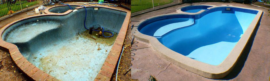 pool in poor condition
