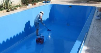 paint a swimming pool